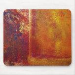 Modern Art Colour Fields Orange Red Yellow Gold