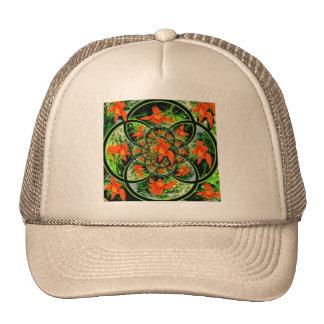 Modern Art Daylily garden Gifts Hats