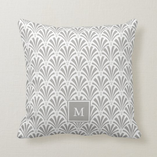 Modern Art Deco | Grey and White with