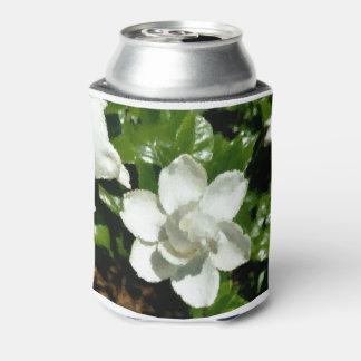 Modern Art Gardenia Can Cooler