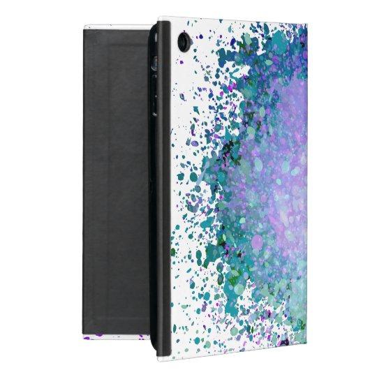 Modern Art In Purple And Green Case For iPad Mini