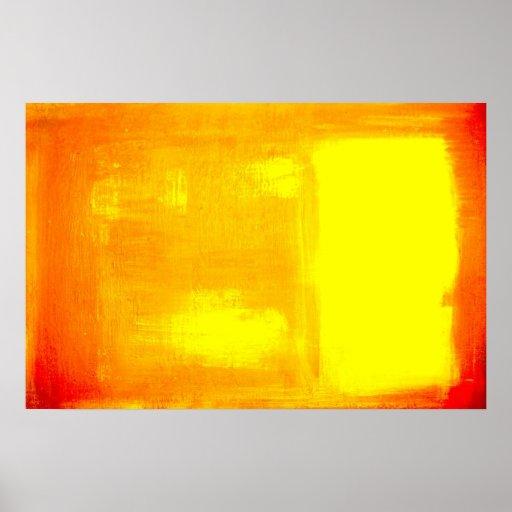 Modern Art - Minimalist Abstract Art Poster Print | Zazzle