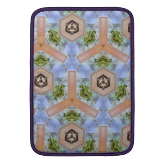 Modern art pattern MacBook sleeve