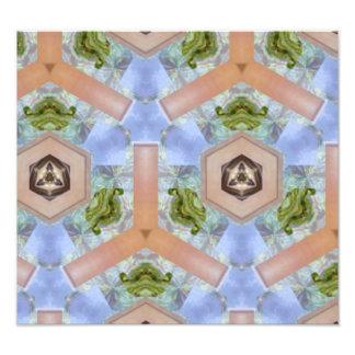 Modern art pattern photograph