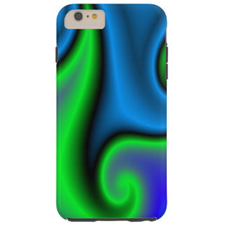 Modern art pattern tough iPhone 6 plus case