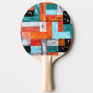 Modern Art Ping Pong Paddle