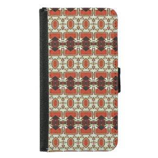 Modern art samsung galaxy s5 wallet case
