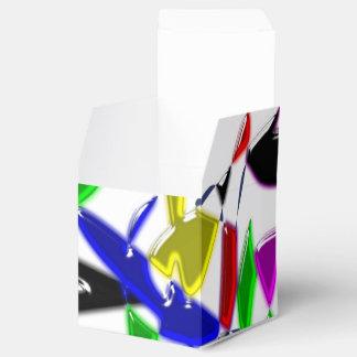 Modern art texture favour box