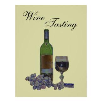 Modern Art Wine Tasting Event Flyer
