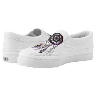 Modern Artistic Native American Dreamcatcher Slip-On Shoes