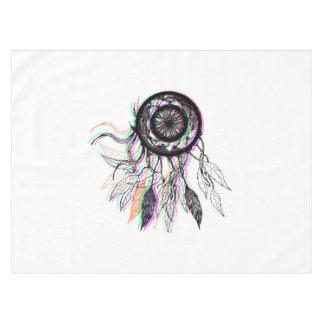 Modern Artistic Native American Dreamcatcher Tablecloth
