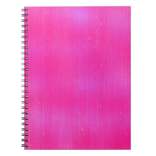 Modern Artistic Pink Texture Notebook