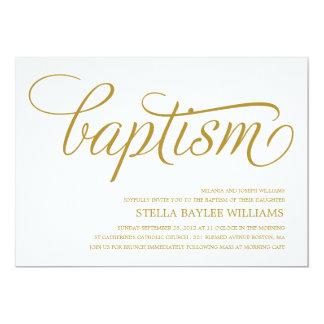 MODERN BABY | BAPTISM INVITATION