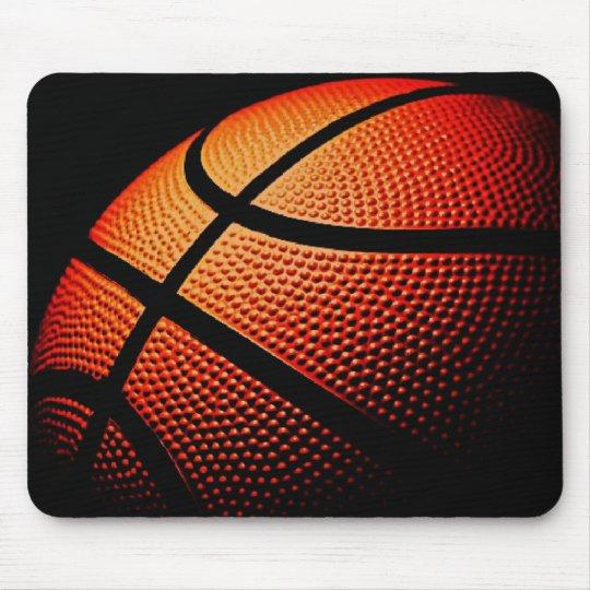 Modern Basketball Sport Ball Skin Texture Pattern Mouse Mat
