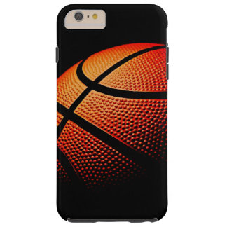 Modern Basketball Sport Ball Skin Texture Pattern Tough iPhone 6 Plus Case