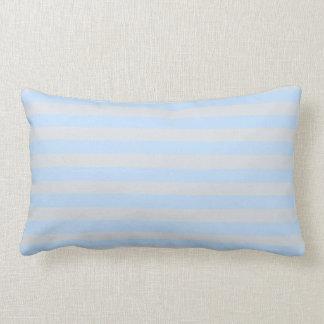 Modern Beach Pillow : Light Blue Lumbar Cushions - Rectangular Light Blue Scatter Cushions Zazzle