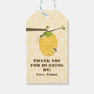 Modern Bee Gift Tags