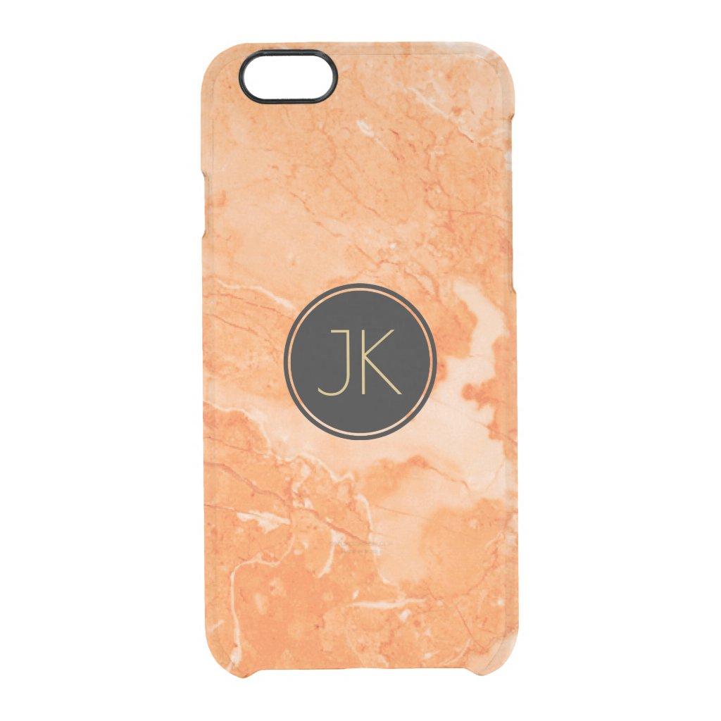 Modern Beige Marble Texture Print