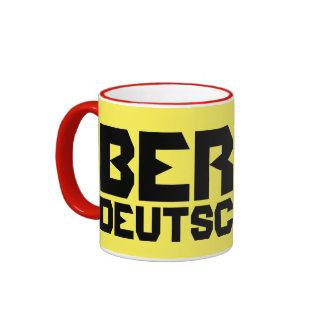 Modern Berlin Deutschland Mug