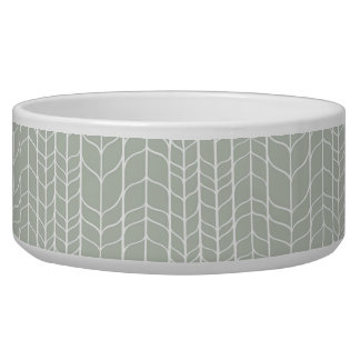 Modern Birch Pet Bowl