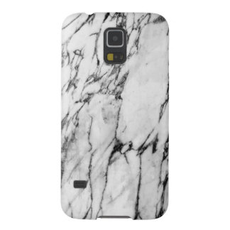 Modern Black and White Fashion Marble Pattern Cases For Galaxy S5