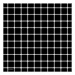 Modern Black and White Optical Illusion Art Posters