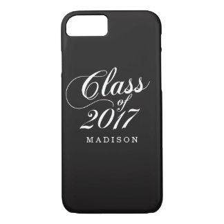 Modern Black | Graduation iPhone 8/7 Case