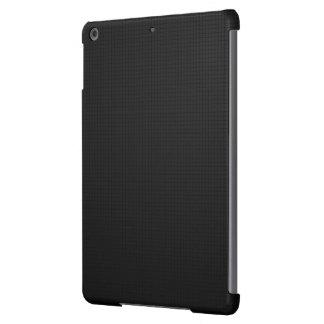 Modern Black Texture Cover For iPad Air