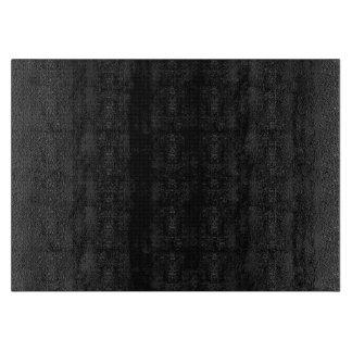 Modern Black Texture Cutting Board