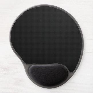 Modern Black Texture Gel Mouse Mat