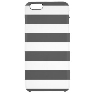 Modern Black White Stripes Pattern iPhone 6 Plus Case
