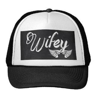 modern blackboard scripts honeymoon wifey hats