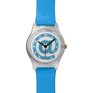 Modern Blue At Sign Watch