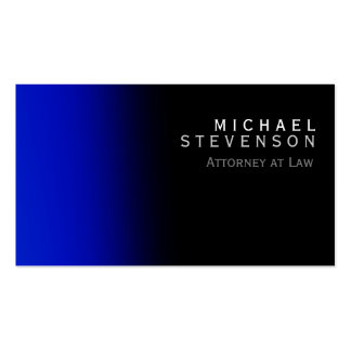 Modern Blue Attorney at Law Business Card