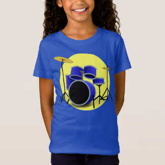 MODERN BLUE DRUM SET T-Shirt