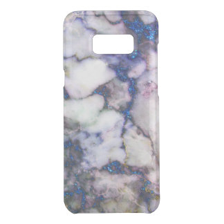 Modern Blue Glitter Gray And Pink Marble Stone Uncommon Samsung Galaxy S8 Plus Case
