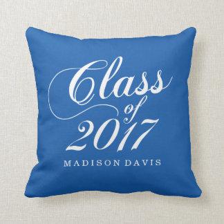 Modern Blue | Graduation Cushion