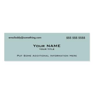 Modern Blue QR Code Business Card Template