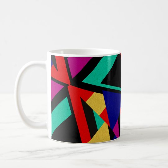 Modern Bold Abstract Colours Coffee Mug