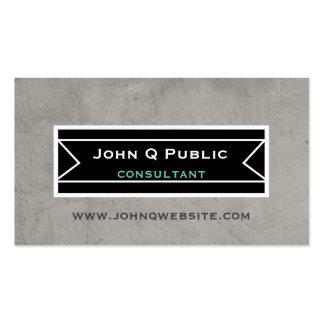 modern bold design business card minimalist style