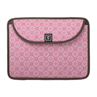 Modern Bold Pink Floral MacBook Pro Sleeve