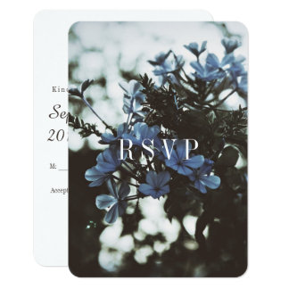 Modern Botanical Collection RSVP: III Card