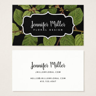 Modern calligraphy business cards business card printing zazzle uk