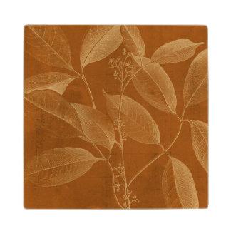 Modern Botany VI Wood Coaster
