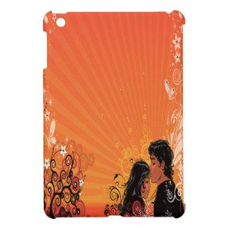 Modern Bride Groom Sunset iPad Mini Cover