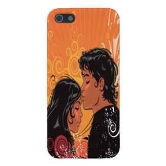 Modern Bride Groom Sunset iPhone 5 Cover