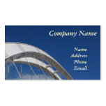 Modern Bridge Design with Blue Sky Pack Of Standard Business Cards