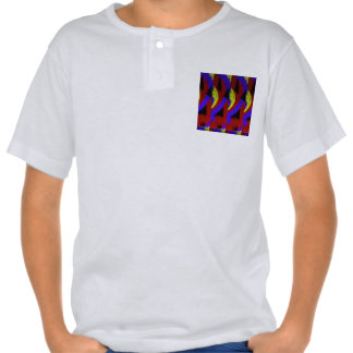 Modern bright abstracts t shirts