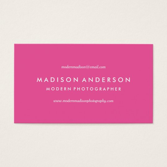 Modern & Bright | Business Cards
