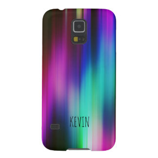 Modern Bright Colors Abstract Rays GR3 Galaxy S5 Cases